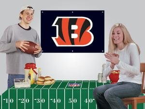 NFL Cincinnati Bengals Party Kit - Fan Banner Nfl Party Kit