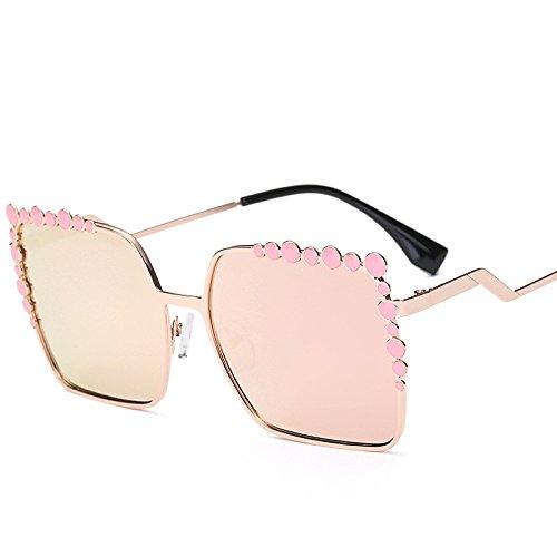 Viaje Hombres Visera C Personalidad Gafas Mujer De Playa Moda De E para Calle De Exteriores Retrovisor Ritmo Gafas Moda Gafas Sol Sol Espejo IxpqZw66