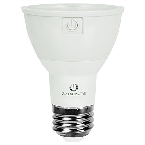 Green Creative 58114 PAR30 Flood LED Lightbulb, 2700K (Warm White), Dimmable, CRI 90, 13W, 1000 lm, Energy Star, 25°