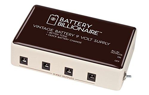 - Danelectro Billionaire BAT-1 Battery Billionaire Pedal Power Supply
