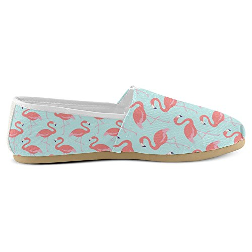 Interestprint Womens Loafers Klassiska Avslappnade Duk Slip På Mode Skor Gymnastikskor Lägenheter Multi 12