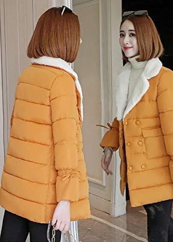 Warm Top Soft Soprabito Spessa Lunga Lightweight Giacca Sezione Dress Cappotto Felpa Capispalla Cappotti Outwear Casual Invernale Fashion Ysfu Di Da Donna Ladies Cotone HPq4nRf6w