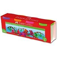 Faber-Castell 5170120043 Su Bazlı Oyun Hamuru, 4 Renk