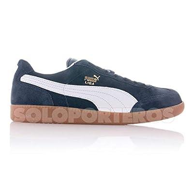 Puma Puma Liga Suede Herren Sneaker Schuhe Leder schwarz