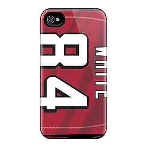 LisaSwinburnson Iphone 6plus Durable Hard Phone Cases Allow Personal Design Vivid Atlanta Falcons Pictures [Ivr9647deOg]