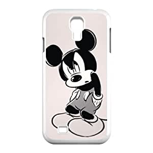 Samsung Galaxy S4 I9500 Phone Case White Disney Mickey Mouse Minnie Mouse VMN8184286