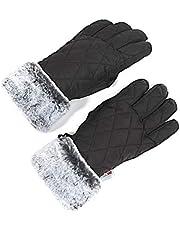 accsa Women Waterproof & Windproof Snow 3M Thinsulate Winter Ski Gloves