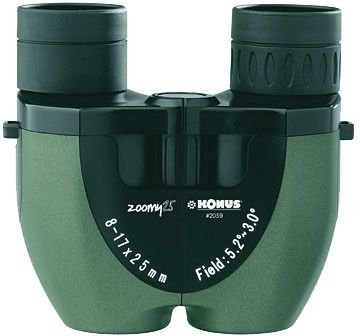 compact zoom binocular
