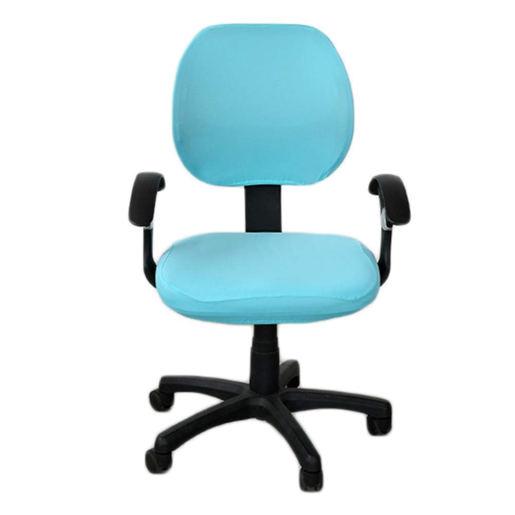 Deisy Dee Universal Computer Office Rotating Stretch Polyester Chair Cover C042 (style 5)