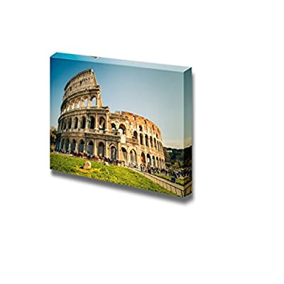 Beautiful Expert Craftsmanship, That's 100% USA Made, Famous Landmark Landscape Coliseum in Rome Home Deoration Wall Decor