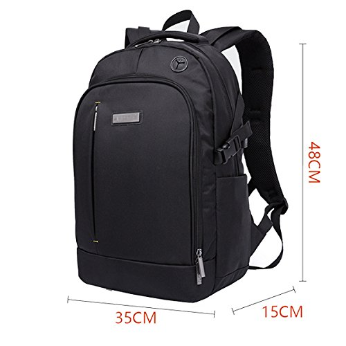 Men's Multifunctional Business Backpack Paquete Para Portátil Black