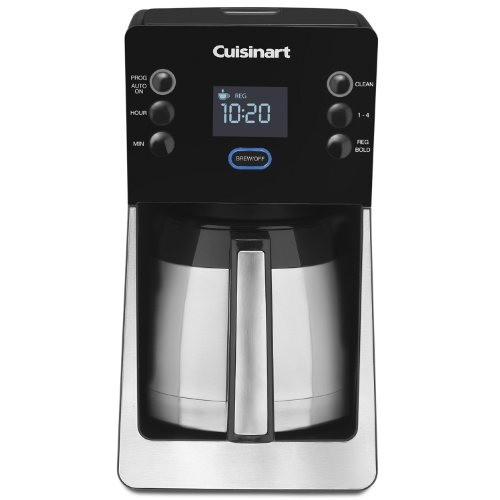 Cuisinart Coffee Maker Replacement Jug : Cuisinart DCC2900 12-Cup PerfecTemp Thermal Coffee Maker + 2 Cuisinart Replacement Water Filters ...