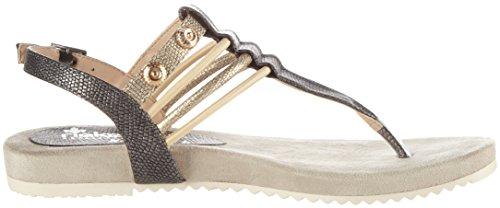 Rieker V5373, Protectores de Dedos para Mujer Gris (Blei/antique / 45)