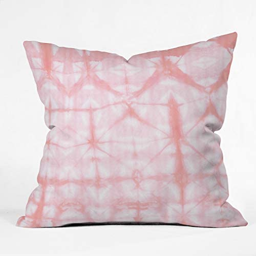 Deny Designs Amy Sia Tie Dye 2 Pink Indoor Throw Pillow, 26 x 26