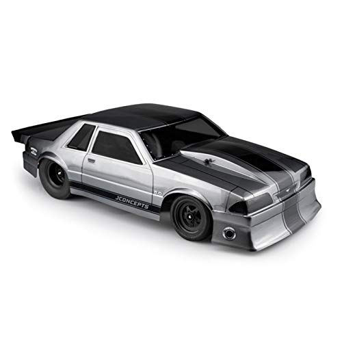 J Concepts Inc. 1991 Ford Mustang Fox Clear Body 10.75 Width, 13