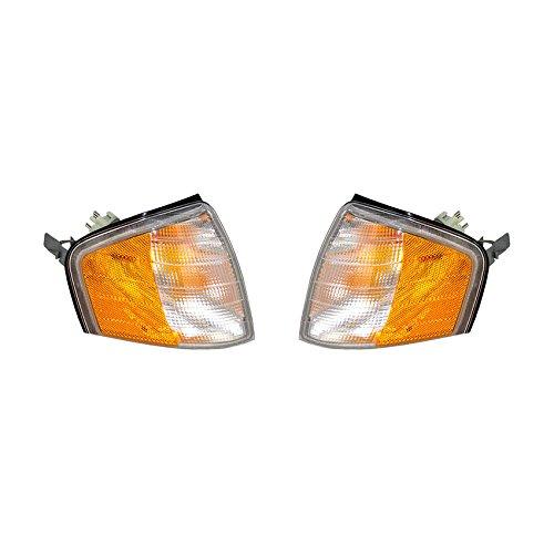 NEW TURN SIGNAL LIGHT PAIR FITS MERCEDES BENZ C280 94-00 MB2521101 2028261243 2028261143 202-826-11-43 202 826 12 43
