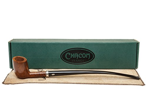 Chacom Bastille Churchwarden Pipe 345 - Smooth by Chacom