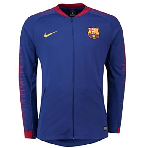 (NIKE FC Barcelona Anthem Men's Soccer Jacket)