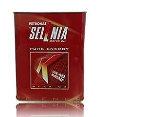Selenia K Pure Energy 5W-40, cesta de 2 litros