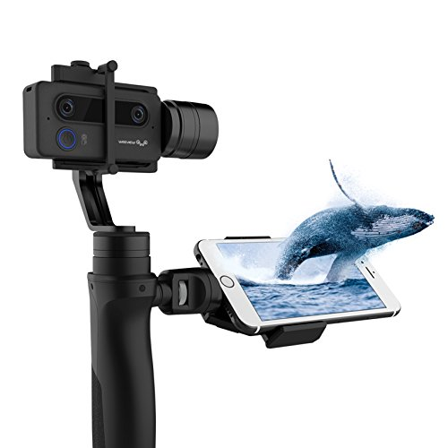 SID 3D Camera by Weeview - Mini 3D Wi-Fi Video Camera with Optional Handheld Stabilizer Gimbal (Cinematic Kit)