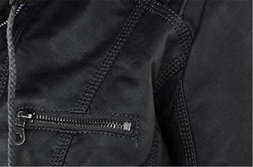 Femme Manches clothing COCO Noir Blouson Longues CIq0xgxYSw