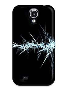 AnnDavidson Premium Protective Hard Case For Galaxy S4- Nice Design - Ice Abstract