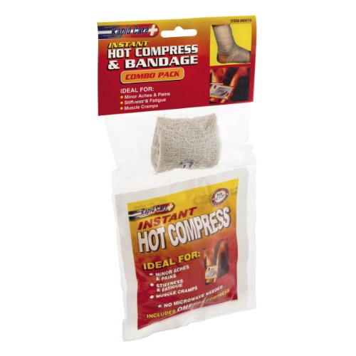 Rapid Care+ Instant Hot Compress & Bandage Combo Pack (Care Rapid)