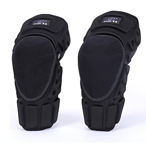 Takuey Kevlar Knee Protector Motorcycle Racing Knight Skateboard Sports Knee Pads Support Black M,L,XL (L) (Football Knights Black)