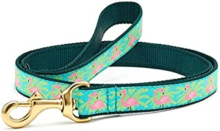 product image for Up Country Pink Flamingo w Palms Dog Collar
