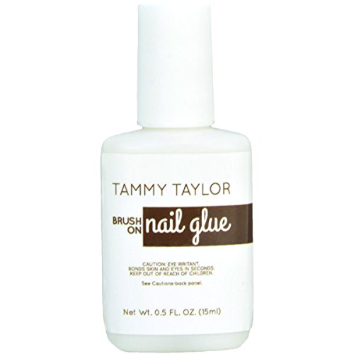 TAMMY TAYLOR Brush On Nail Glue .5 oz by Tammy Taylor by Tammy Taylor