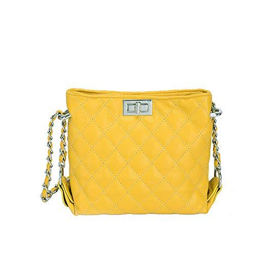 Diagonale Épaule 2018 Yellow D'Une Place Femmes Tout Fourre Sac De 4 Mzdpp Lingge Verrouillage Fashion Couleurs 80wFqqxA