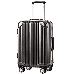 COOLIFE luggage insists on excellent quality to make your journey safe and enjoyable. COOLIFE luggage insists on excellent quality to make your journey safe and enjoyable. PC is extremely light and durable compared to standard ABS. This set f...