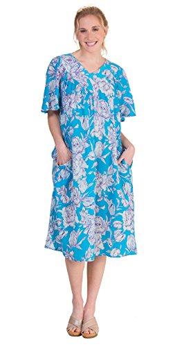 Island Floral Print Dress - 8