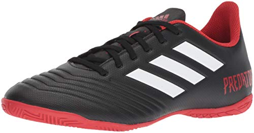 Shoe White 18 adidas 4 Black Red Indoor Men's Predator Soccer Tango qtpf0zt1