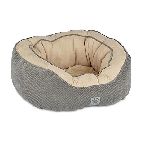 Precision Pet Daydreamer Gusset Bed, 21 by 19 by 9.5-Inch, Gray Review