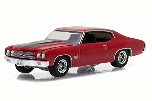 Greenlight 1:64 Muscle Car Series 17 1970 Chevrolet Chevelle SS Red (Model Chevelle Diecast)