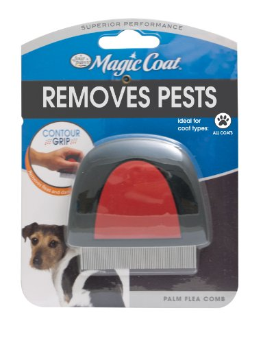 Four paws magic coat dog grooming palm flea comb price for 4 paws dog salon