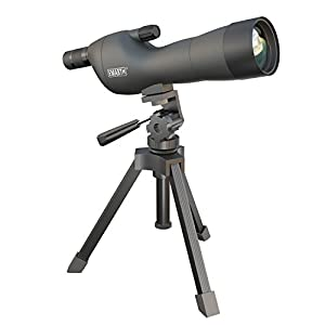 Emarth 20-60x60SE Straight Spotting Scope Telescope with Tripod, Optics Zoom 39-19m/1000m for Target Shooting, Bird Watching, Hunting, Traveling, Outdoor Activities