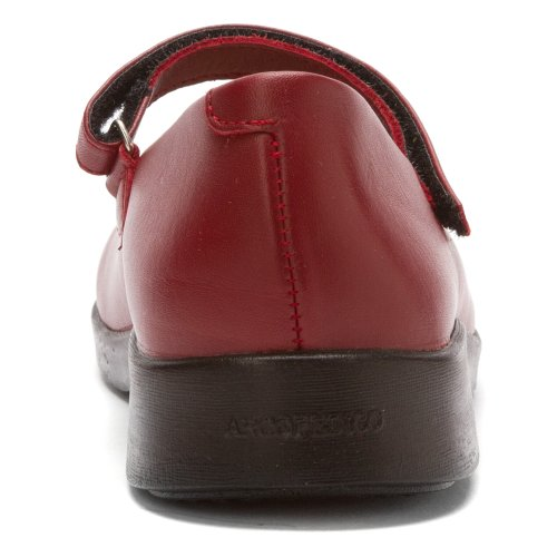 Arcopedico Leather Shoes Red 7151 Scala Womens wrqaxYrz