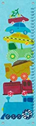 Oopsy Daisy Growth Charts Things That Go by Libby Ellis, 12 by 42-Inch