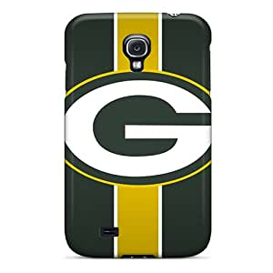 EricHowe Samsung Galaxy S4 Shockproof Hard Phone Cases Support Personal Customs High Resolution Green Bay Packers Pattern [elc9516nOkR]