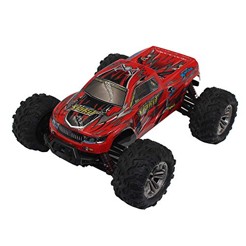Choosebuy 1:16 Off-Road Remote Control Racing Car with 2.4GHz Technology, 4WD High Speed RC Tracked Cars Buggy Toys for Indoors/Outdoors, Best Christmas Birthday Gift for Children and Adults (Red) by Choosebuy (Image #1)