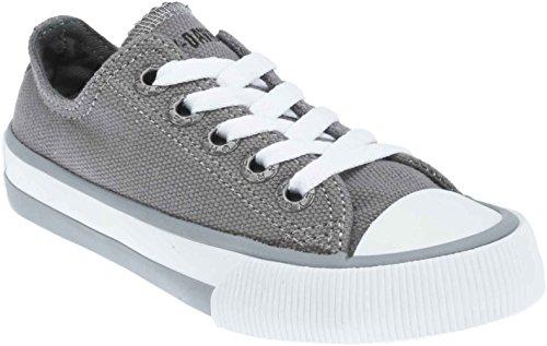 Harley-Davidson Kid's Rascal Grey Low-Cut Grey Sneakers. D61010 (Grey, 13)