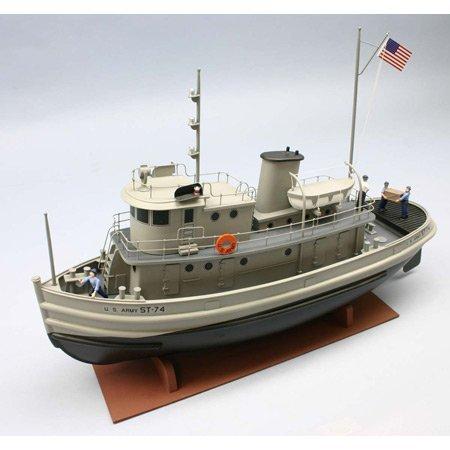 Rc Tugboat - Dumas 1256 US Army 74' ST Tug 1256 by Dumas