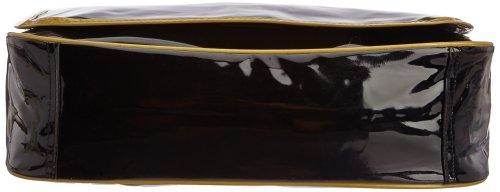 Le Temps des Cerises Rumba Bi-Color 8 - Bolso bandolera mujer multicolor - Multicolore (Noir/Bronze)