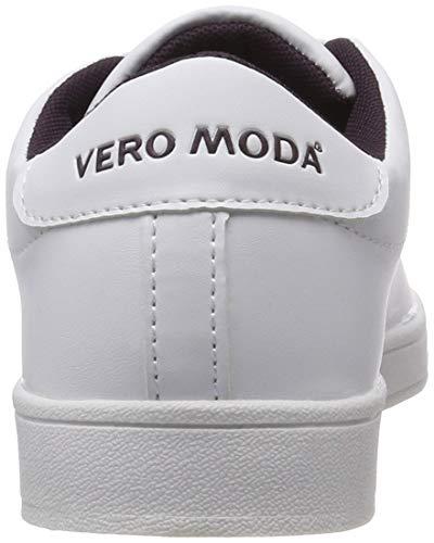 Bianco Winetasting Vero Moda Sneaker Scarpe Snow White Basse W Vmcelina Detail Donna Ginnastica da r8OwrqH