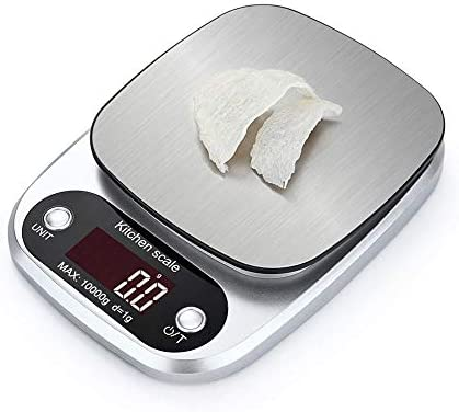 10Kg/1g Digital Kitchen Scale Food Nutrition Scale Diet Post