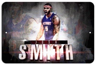 Josh Smith Detroit Pistons Metal 8x12 Poster imPrint