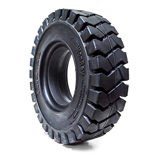 """5.00-8 500-8 5008 5.00/8 Solid Forklift Tires 3.0"""" RW 5.00/8 Flat Proof 5008"""