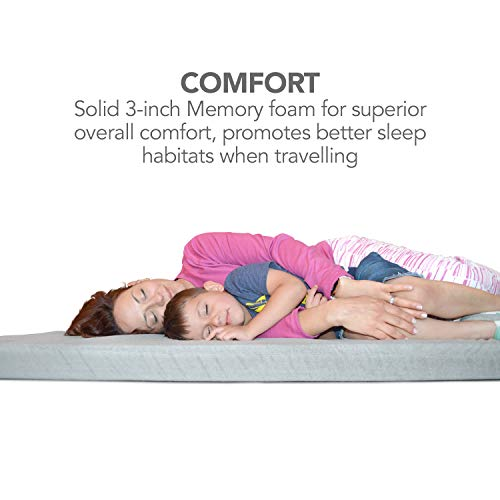 Better Habitat SleepReady Memory Foam Floor Mattress